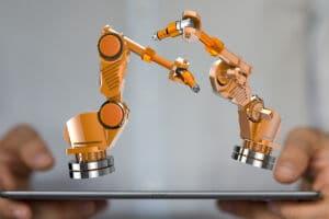 Klebstoffindustrie Robotic